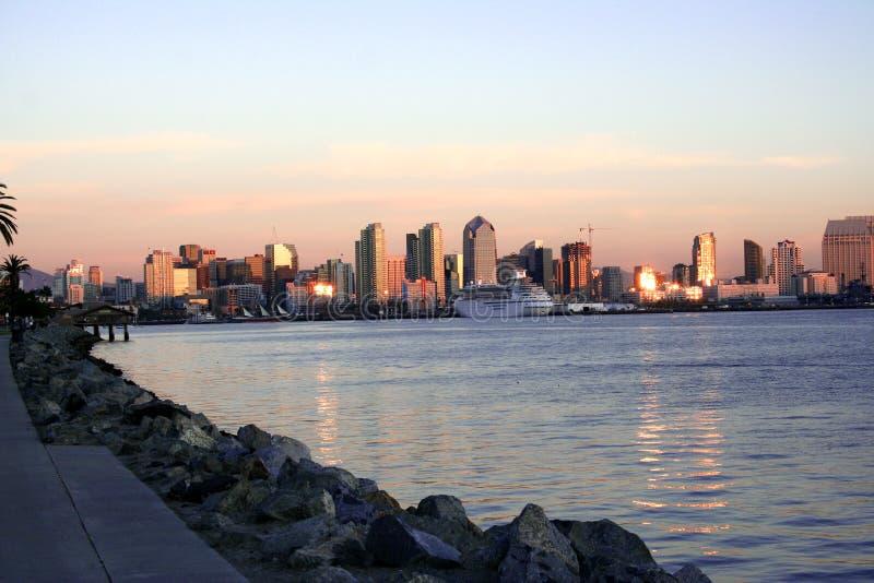 San Diego céntrica, Ca fotografía de archivo