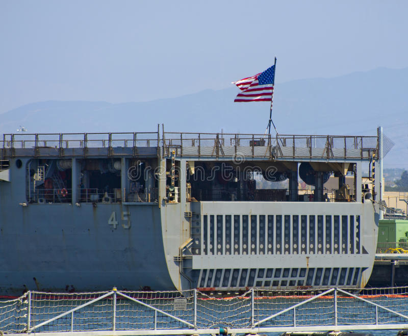 SAN DIEGO, CA - USS Comstock LSD-45 photos stock