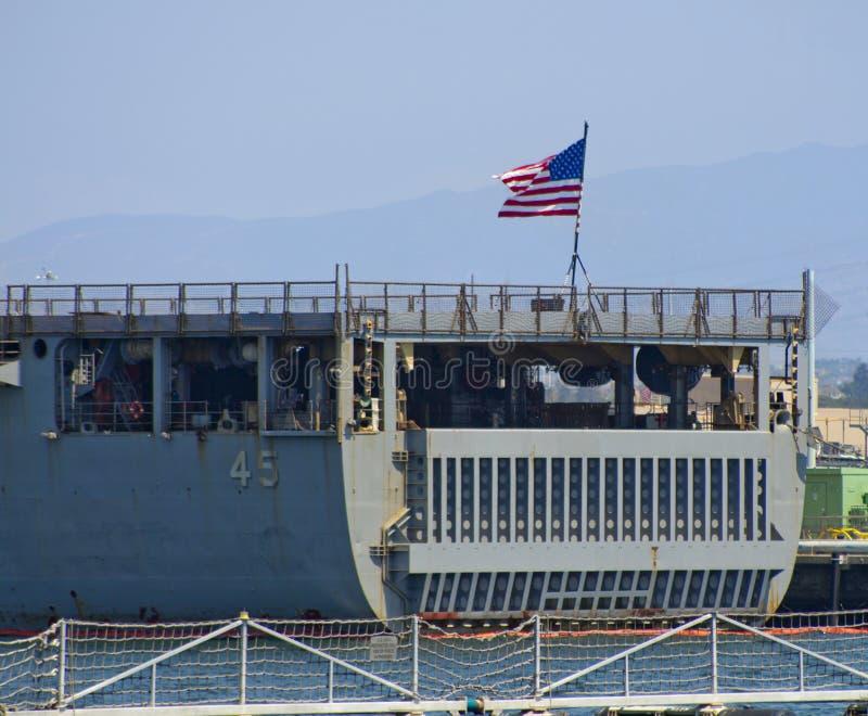 SAN DIEGO, CA - USS Comstock LSD-45 stock photos