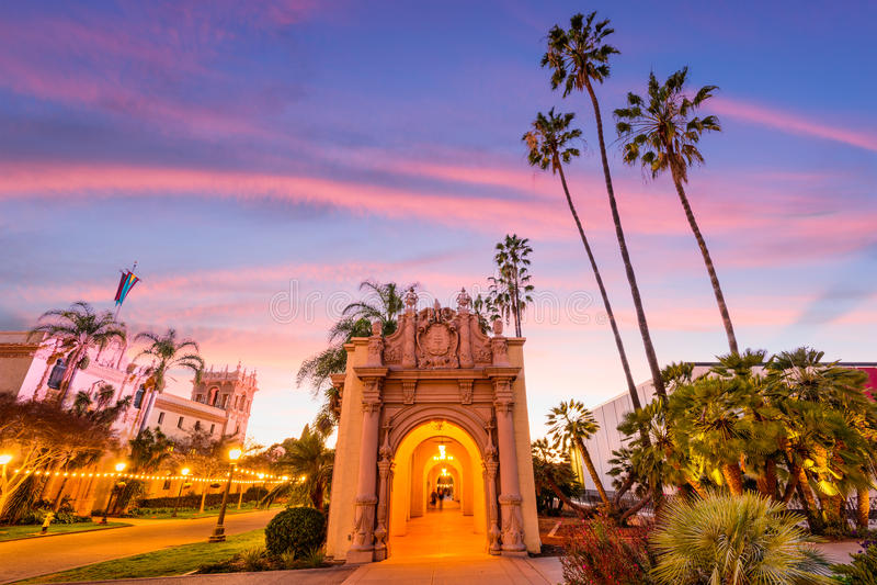 San Diego Californië stock foto's