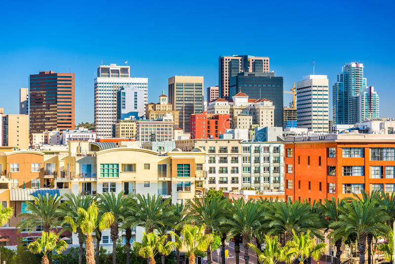 San Diego, Californië, de V.S. royalty-vrije stock fotografie