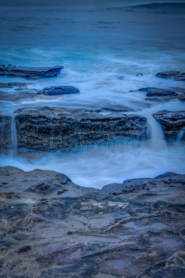 San Diego California Coastline na mola imagem de stock royalty free