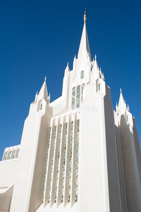 San Diego California Temple royalty free stock photos
