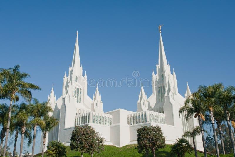 San Diego California Temple stock photos