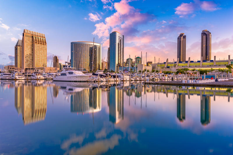 San Diego, California, USA royalty free stock images