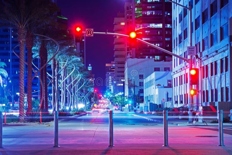 San Diego centrum miasta zdjęcie royalty free