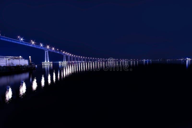 San Diego City Bridge stock foto