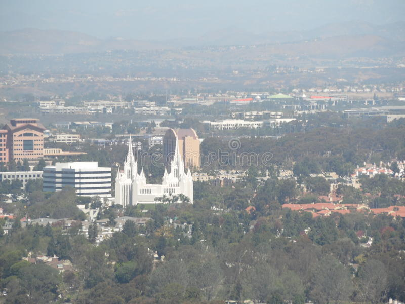 San Diego City Views royalty-vrije stock afbeelding