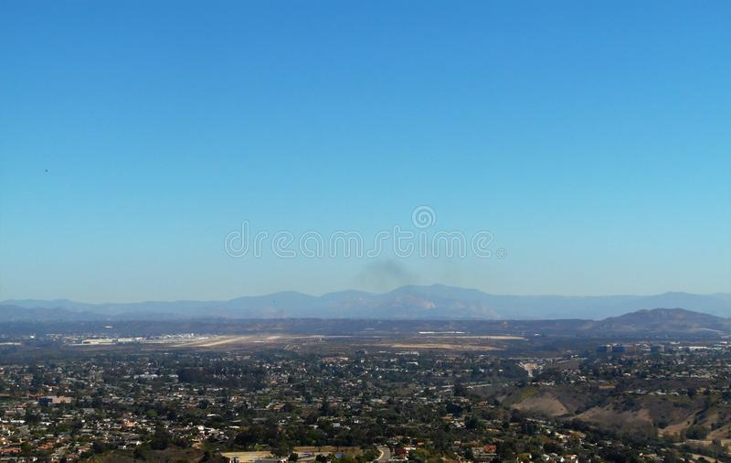 San Diego City Views stock afbeelding