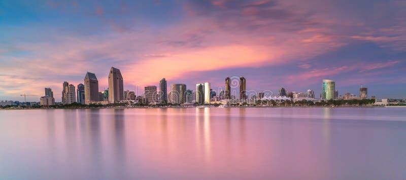 San Diego cityscape arkivbild