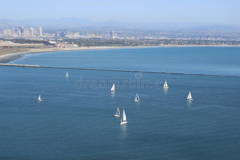 San Diego Coast immagine stock