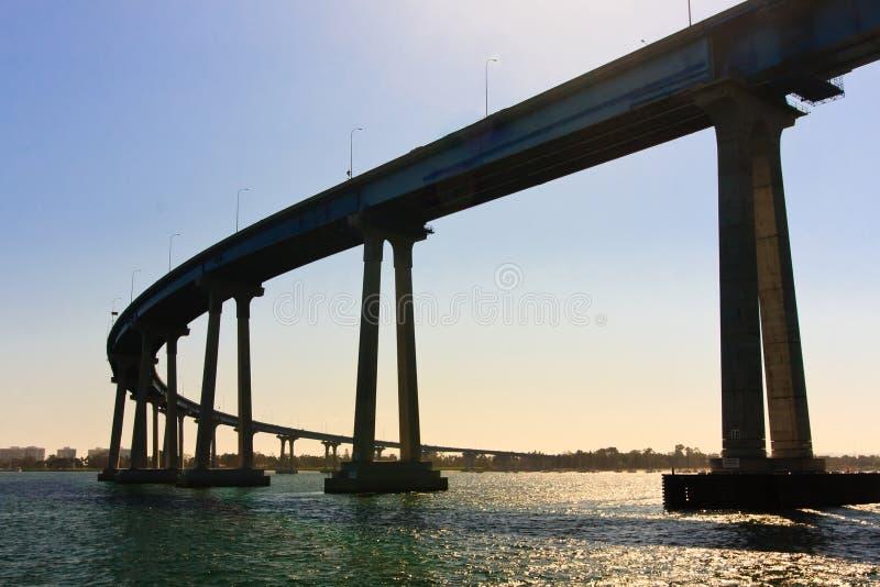 San Diego - Coronado Brücke lizenzfreies stockfoto