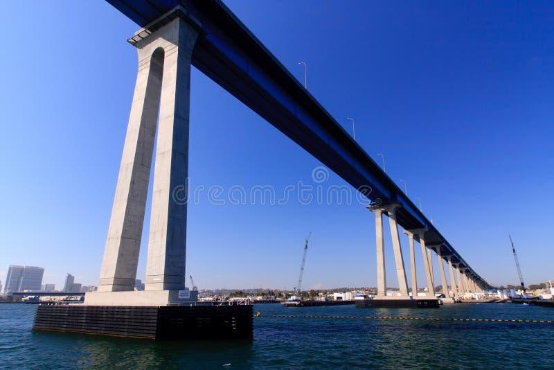 San Diego - Coronado Brücke lizenzfreie stockfotos