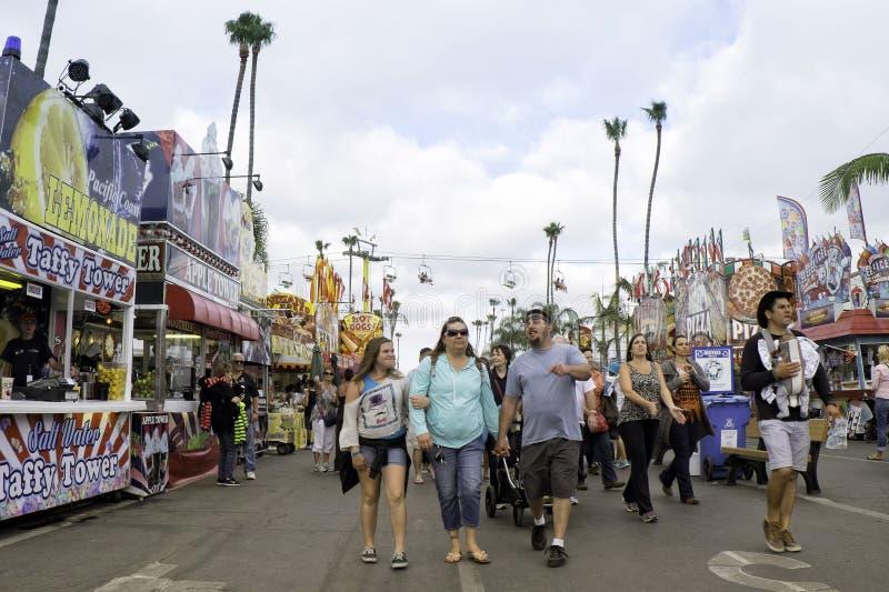 San Diego County Fair, Kalifornien stockfoto