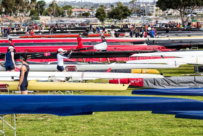 San Diego Crew Classic images stock