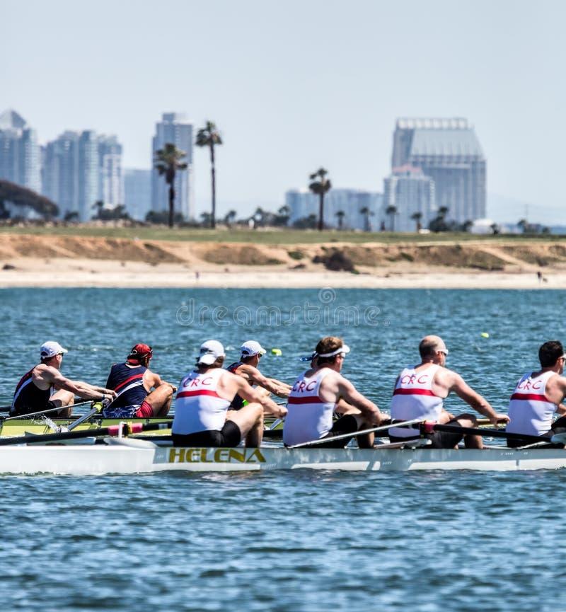 San Diego Crew Classic photos stock