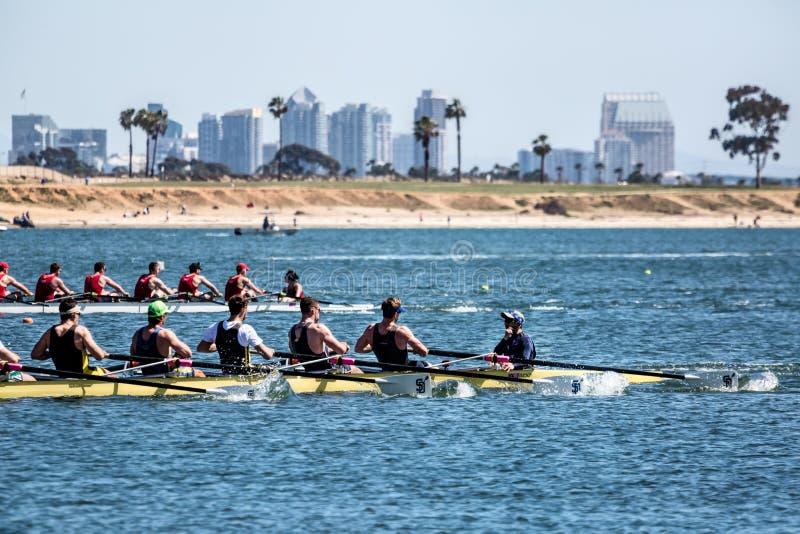 San Diego Crew Classic images libres de droits