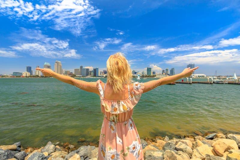 San Diego in den Sommerferien lizenzfreie stockfotografie