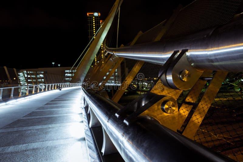 San Diego Downtown Bridge royalty-vrije stock afbeelding