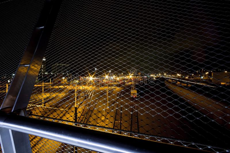 San Diego Downtown Bridge stock fotografie