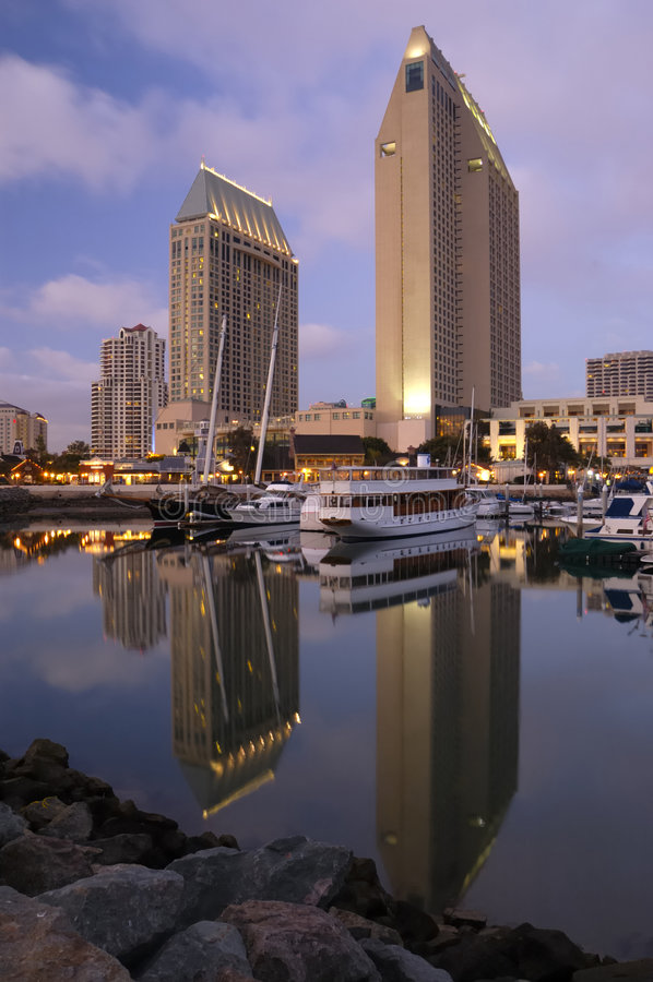 San Diego du centre illustration de vecteur