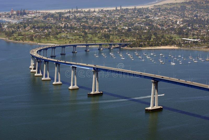San Diego heet u welkom stock fotografie