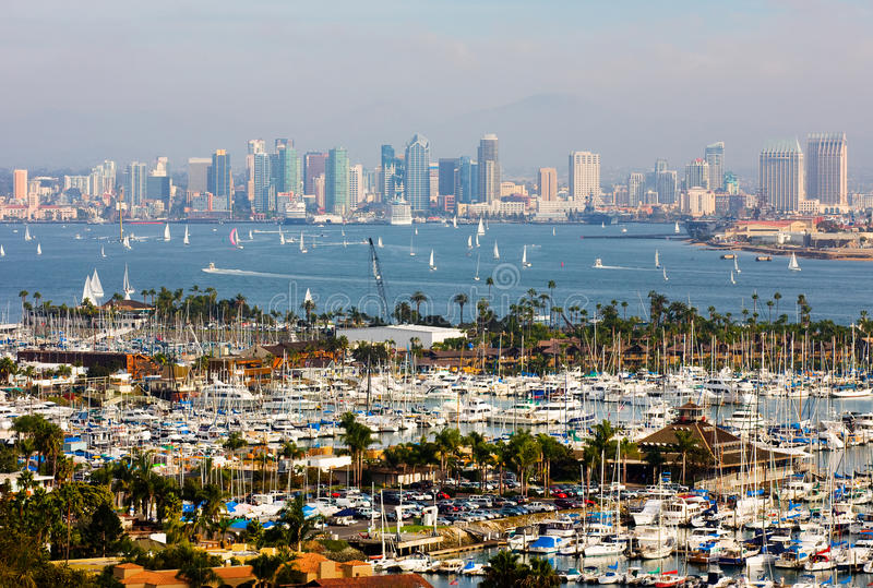 San Diego la Californie photos stock