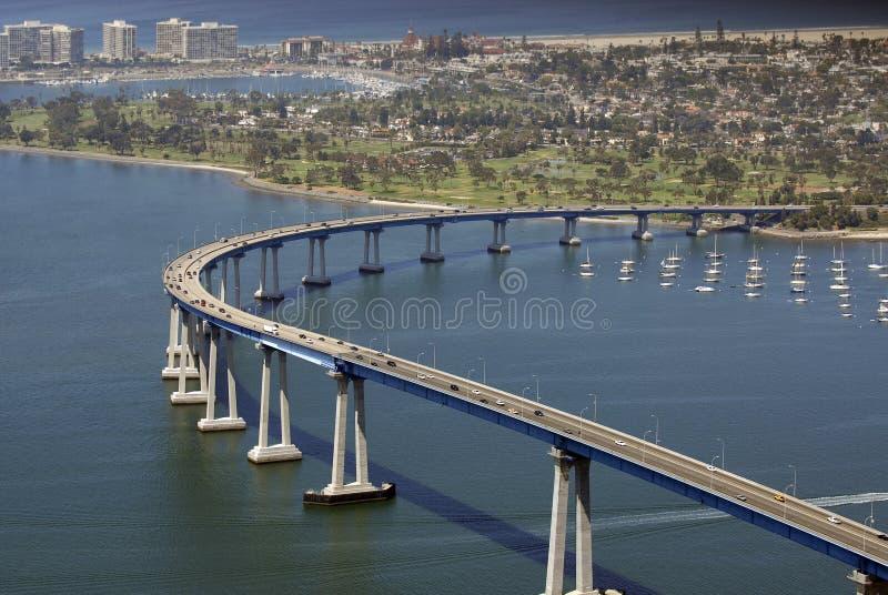 San Diego le acoge con satisfacción foto de archivo libre de regalías