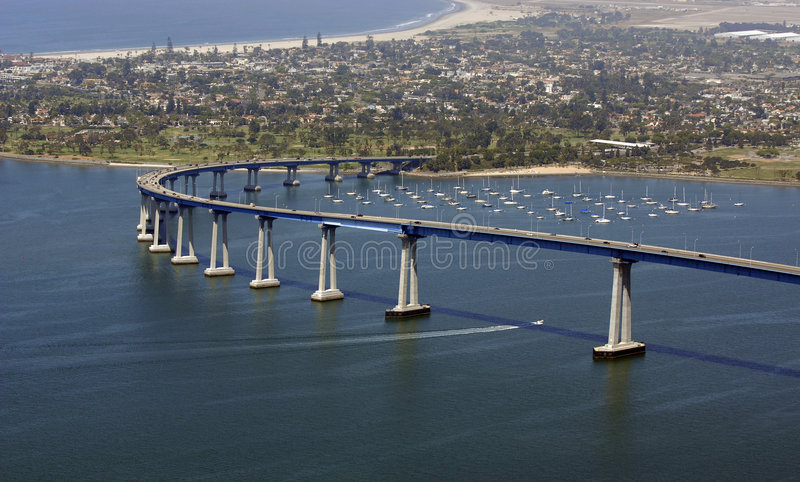 San Diego le acoge con satisfacción fotos de archivo