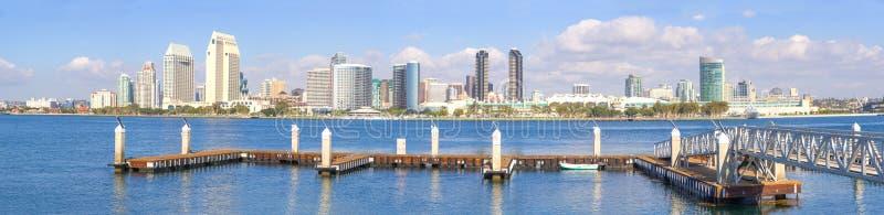 San Diego linia horyzontu zdjęcie royalty free