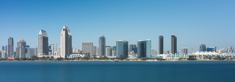San Diego linia horyzontu zdjęcia royalty free