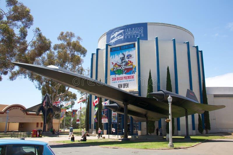 San Diego Lotniczy & Astronautyczny muzeum fotografia stock