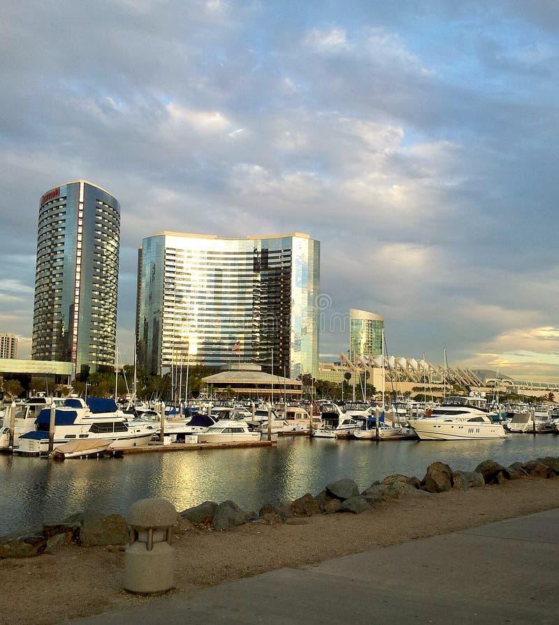 San Diego Marina stock photos