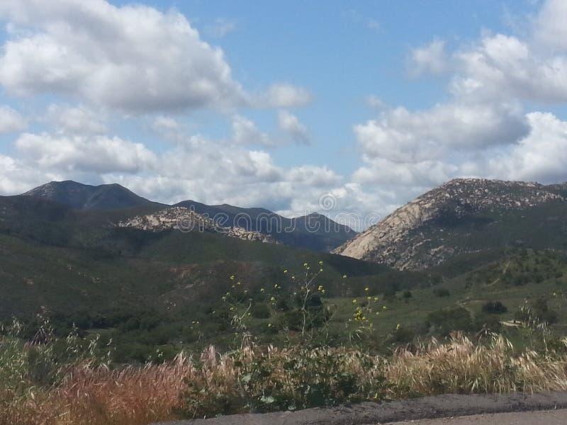 San Diego Mountains photo libre de droits