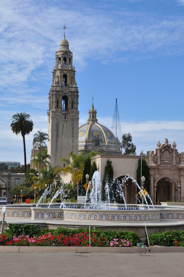 San Diego Museum dell'uomo nel parco della balboa a San Diego, California immagini stock