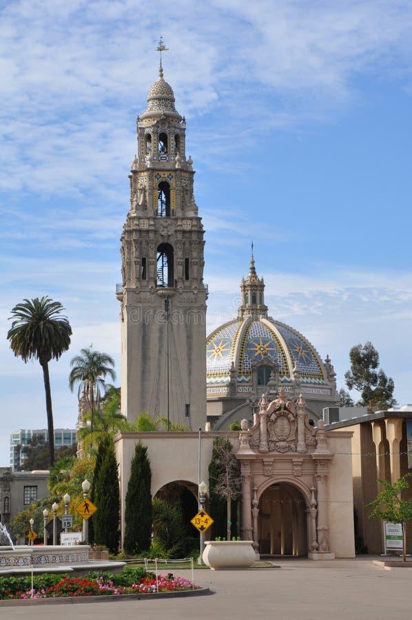 San Diego Museum des Mannes im Balboa-Park in San Diego, Kalifornien lizenzfreie stockfotos