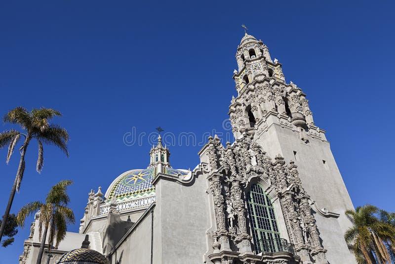 San Diego muzeum przy balboa parkiem obraz stock