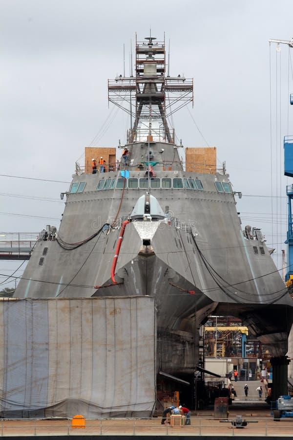 San Diego Navy Shipyard imagem de stock royalty free
