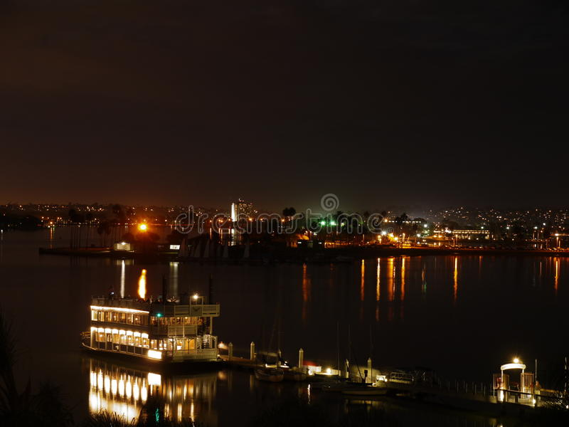 Download San Diego night scene stock photo. Image of diego, view - 22992296