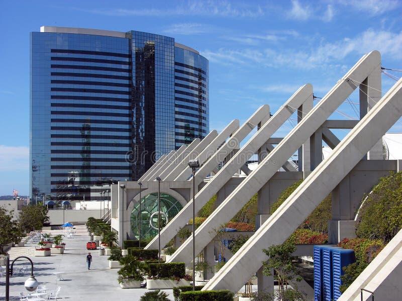 San Diego nowoczesna architektura obraz royalty free