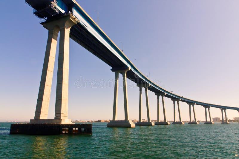 San Diego - passerelle de Coronado images stock