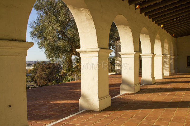 San Diego Presido fotografia stock