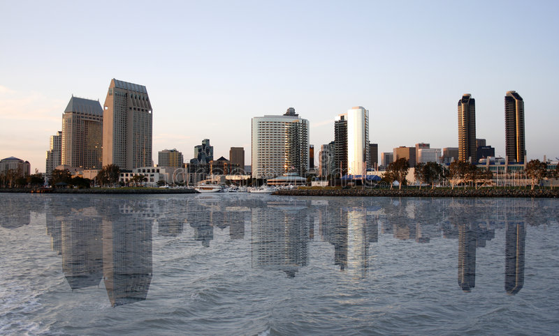 Download San Diego reflection stock photo. Image of boats, ports - 2307994