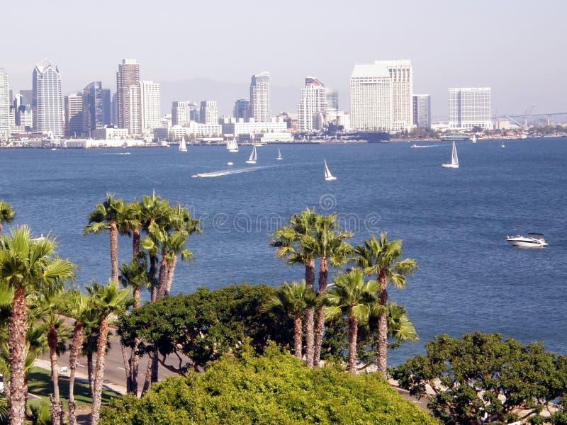 San Diego scénique photo stock