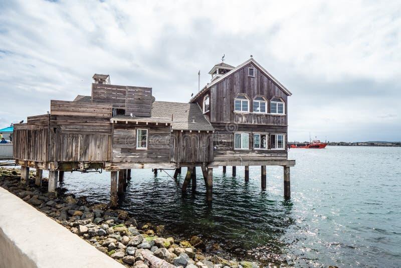 San Diego Seaport Village Park - CALIF?RNIA, EUA - 18 DE MAR?O DE 2019 foto de stock royalty free