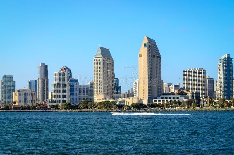 San Diego Skyline stockfotografie