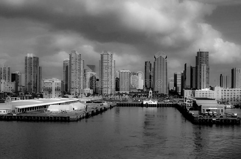 San Diego Skyline image libre de droits