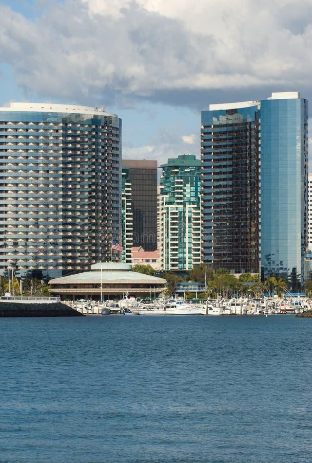 San Diego Skyline stock images