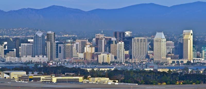 San Diego Skyline, California royalty free stock images