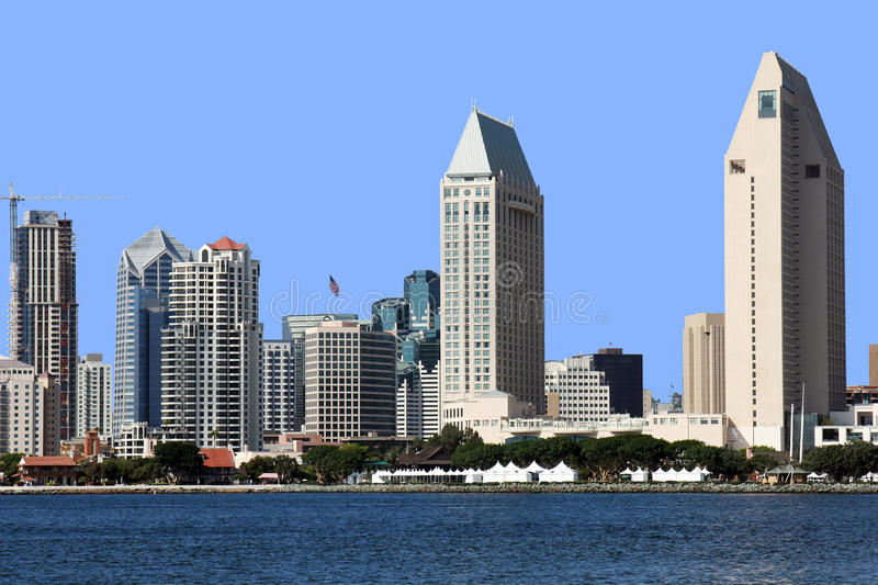 Download A San Diego Skyline Close-up. Stock Photo - Image: 11263650